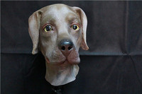 hot selling full head realistic Labrador Costume latex dog mask
