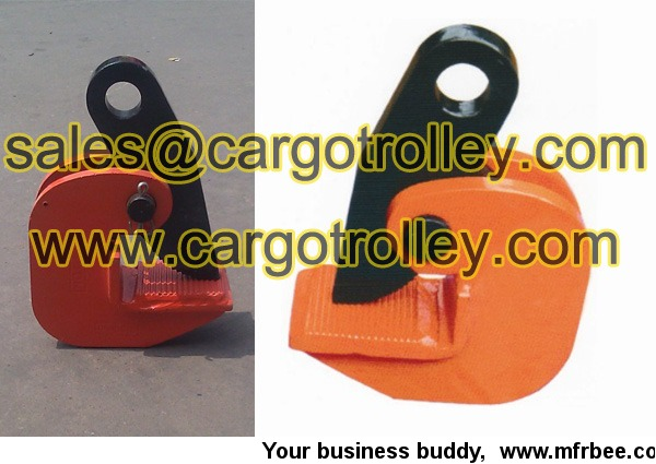 horizontal_steel_plate_lifting_clamp_price_list