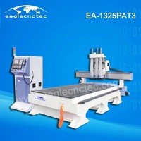 Pneumatic Auto Tool Changer CNC Router for Panel Furniture