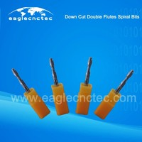 Double Flutes Spiral Downcut Bit Tools