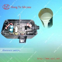 potting silicone rubber for LED electronic components module