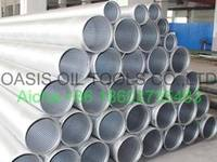 Wedge wire water well screen pipes