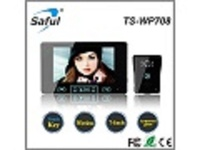 wireless video door phone installation Saful TS-WP708 1V1