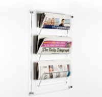 Acrylic Display Rack for cosmetics shaver leaflet brochure
