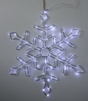 Christmas Decorative SMD snowflake wire form Wall Light KF67184WW