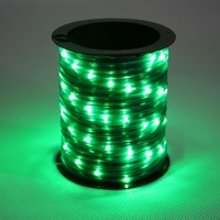 Battery Operated BO 67 Miro Mini Green LED Rope Light KF67015-67G