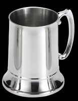 Double Walled Stainless Steel Beer Mug steins with handle