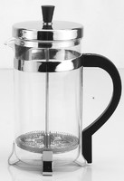 Heat Resistant Glass French Press/Coffee Press/Tea Maker with Stainless Steel Holder