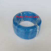 22 AWG Blue Color 100m Hook up Telfon Electrical Wire FEP Insulaterd Stranding Copper Wire