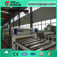 Single side/double side gypsum ceiling board laminating machine