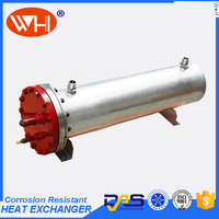 2016 new design 316L  heat exchanger of  tube in shell Heat Exchanger Stainless Steel Pipe