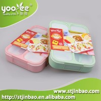 New Product Shantou Yooyee Plastic School Lunch Box Leak Proof