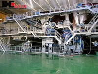 4800/350 300t/d paper board machine made in china