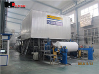 High strenth Corrugated 2400-180 Fourdrinier muti-cylinder Paper making Machine