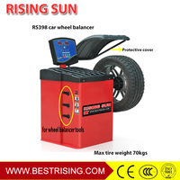 Auto garage used wheel balancing equipment