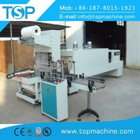 automatic shrink wrap machine plastic packing equipment for beverage production line