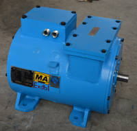 DC motor for mining battery locomotive