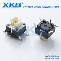 Illuminated tact switch manufacturer 6*6 touch switch with light