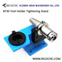 BT30 Tool Holder Tightening Stand Fixture for BT-30 Taper