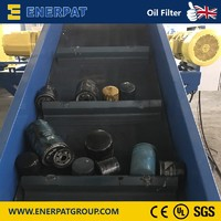Automatic Oil Filter Shredder Machine/Oil Filter Recycling Machine