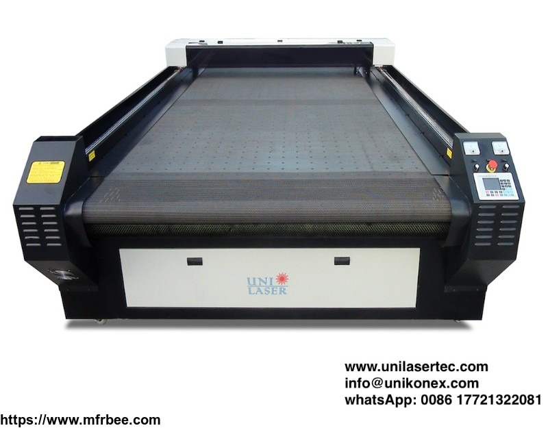 Digital printed laser cutting machine