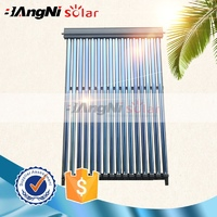 Latest solar thermal collector with heat pipe vacuum absorber tube china