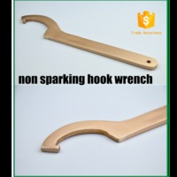 non sparking adjustable hook wrench ,c wrench ,aluminum bronze from China