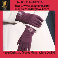 Women Cashmere Winter Gloves