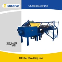 Oil filter shredder for sale with CE