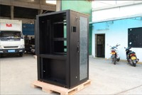 China professional customized aluminium stainless steel server rack network cabinet manufacturer supplier