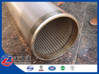 Stainless Steel Wedge Wire Water Well Screen Pipe