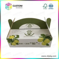 Fruit and vegetable packing box