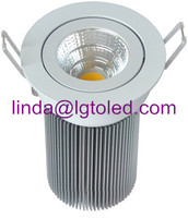 Downlight LED ceiling lamp with Epistar COB led