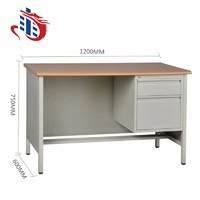 FOB export knock down office desk metal desk office table