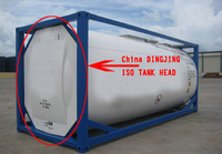 ISO Tank container head-tank end