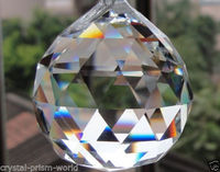 Modern Brilliant cut  crystal glass lighting ball for chandelier parts
