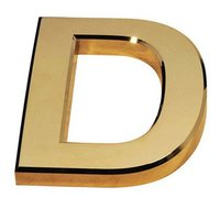 PLASTIC ABS LETTER BADGE MOLDING, PS, HDPE, GOLD PLATING