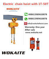 Wokaite New Model 2 Ton M Series Electric Chain Hoist With Single Chain