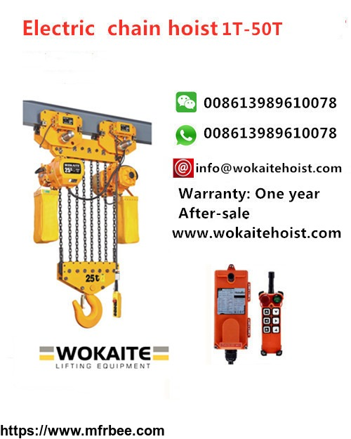 wokaite_25_ton_electric_chain_hoist_with_eight_chains
