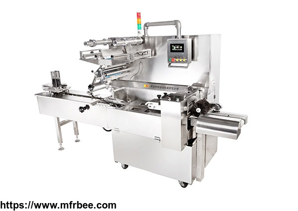 Single lane high-speed medicine board pillow wrapping machine