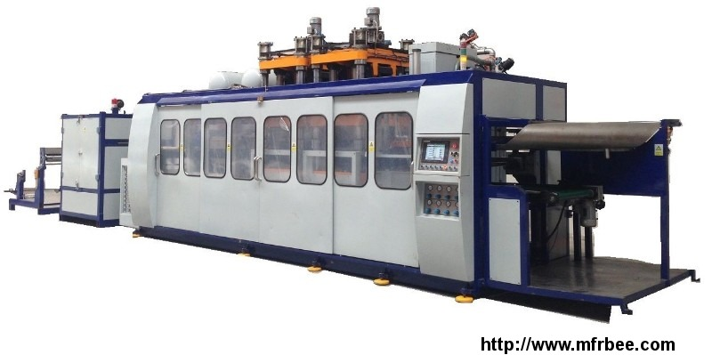 LX3021 3in1-B-S thermoforming machine