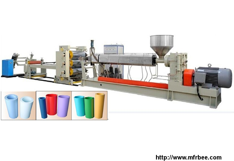 pp_ps_sheet_extrusion_line