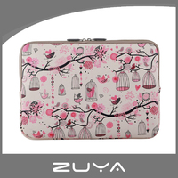 High Quality neoprene PU leather canvas laptop sleeve bags 11