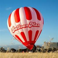 more images of Hot Air Balloon White& Red