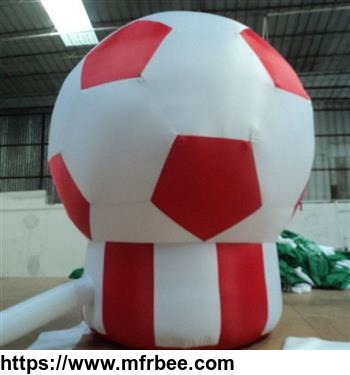 Inflatable Football Floor Lamp For Advertisement