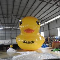 Logo Printing Inflatale Rubber Duck Advertising