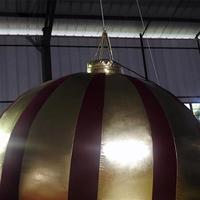 Inflatable Festival Balloon Red And Gold Decoration