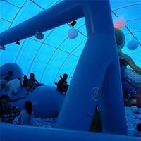 Inflatable Whale Theme Amusement Park  Applications: