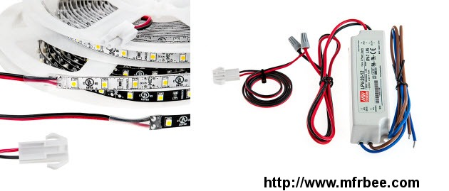 High Power LED Strip Plug and Play Cable Set