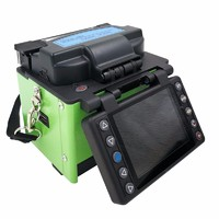 Handheld Optical fiber Fusion Splicer used in optical communication field